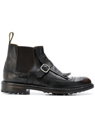 Doucal's Beatles Boots Brown