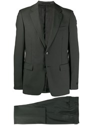 Prada Single Breasted Two Piece Suit Grey