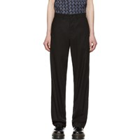 Mcq By Alexander Mcqueen Black Skater Trousers