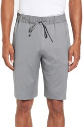 Hanro Men's Night And Day Knit Shorts Mineral