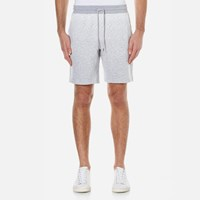 Michael Kors Men's Ombre Terry Shorts Eggshell Blue
