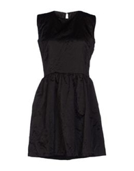 Mary Jane Short Dresses Black