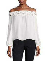 Stone_Cold_Fox Kyoko Lace Off The Shoulder Top White