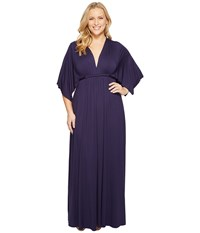 Rachel Pally Plus Size Long Caftan Dress Jupiter Women's Dress Brown