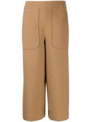 Essentiel Antwerp Tia Wide Leg Culottes Brown