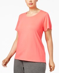 Material Girl Active Plus Size Strappy Back Top Only At Macy's Flashmode