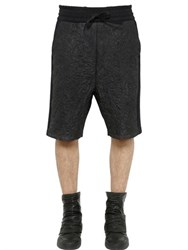 Alexandre Plokhov Wrinkled Nylon And Cotton Jogging Shorts