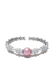 Yoko London 18Kt White Gold Radiant Orchid Freshwater Pearl And 60