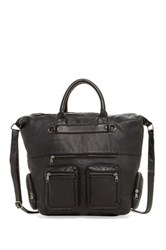 T Shirt And Jeans Moto Tote Black
