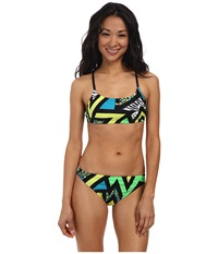 Nike Pow 2 Piece Training Suit Neo Turquoise Women's Swimsuits One Piece Blue