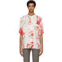Tiger Of Sweden Off White Lacteus Short Sleeve Shirt