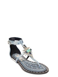 Ivy Kirzhner 10Mm Babel Jeweled Leather Sandals