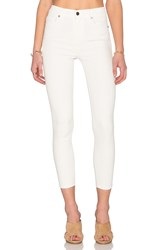Ksubi Hi And Waisted Crop White