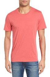 Velvet By Graham And Spencer Men's 'Howard' Crewneck T Shirt Crayon