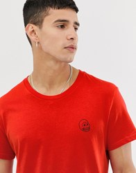 Cheap Monday Tiny Skull T Shirt Red