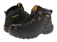 Caterpillar Hydraulic Steel Toe Black Full Grain Men's Work Lace Up Boots