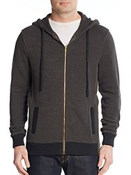 Cohesive And Co. Malo Zip Front Hoodie Black