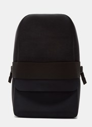 Y 3 Qasa Neoprene Backpack Black