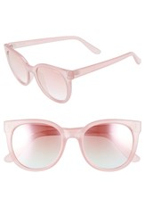Seafolly Curl Curl 53Mm Sunglasses Candy Pink Pink Candy Pink Pink