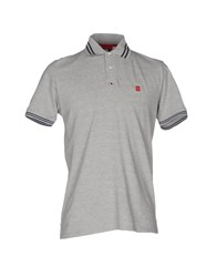 Club Des Sports Polo Shirts Light Grey