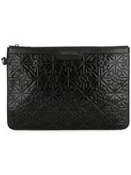 Jimmy Choo Derek Clutch Black