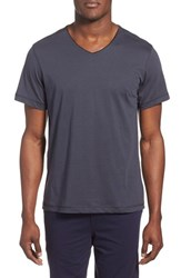Men's Daniel Buchler Peruvian Pima Cotton V Neck T Shirt