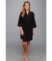 Josie Spicy Essentials Wrap Black Women's Robe