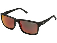 Tifosi Optics Hagen Xl Distressed Bronze Sport Sunglasses Black