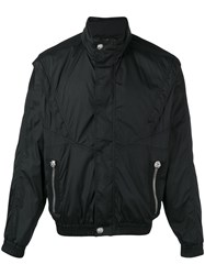 Versus Roll Neck Jacket Black