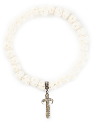 Loree Rodkin Gold And Diamond Pave Dagger Bracelet Nude And Neutrals