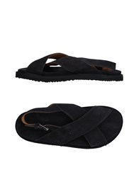 Umit Benan Sandals Steel Grey