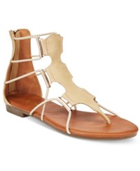 Wanted Bungee Flat Sandals Women's Shoes Natural