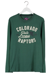 Tom Tailor Colorado Raptors Long Sleeved Top Hunter Green