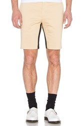 Opening Ceremony Mesh Tape Inseam Slim Fit Short Tan