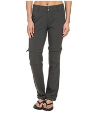 Columbia Saturday Trail Ii Convertible Pant Grill Women's Casual Pants Gray