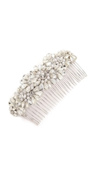Jenny Packham Ananti Imitation Pearl Comb Silver Pearl