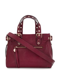 Red Valentino V Eyelet Detailed Tote 60