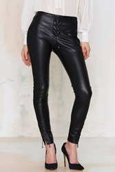 Nasty Gal Wyldr Leg It Lace Up Leggings