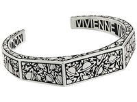 Vivienne Westwood Angelo Open Bangle Oxidized Silver