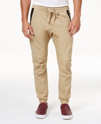 Ring Of Fire Men's Stretch Jogger Pants Created For Macy's Khaki