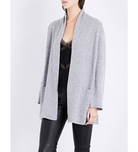 The Kooples Draped Cashmere Cardigan Gry23