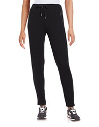 Bench Textured Drawstring Jogger Pants Jet Black