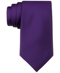 Calvin Klein King Cord Solid Skinny Tie Lilac