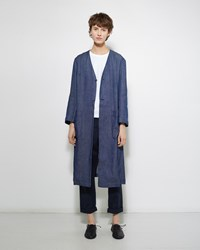 Blue Blue Japan Laong Gawn Coat Navy