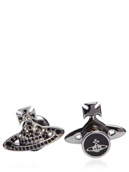 Vivienne Westwood Embellished Orbit Cufflinks