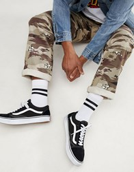 Vans Authentic Pro Camo Chinos In Beige Vn0a31jlrv11 Green