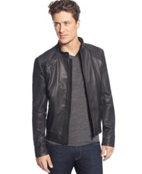 Boss Hugo Boss Lart Motorcycle Jacket Black