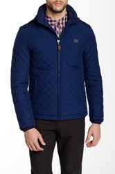 Moods Of Norway Max Quilted Jacket Blue