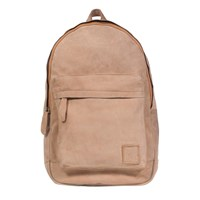 Mahi Leather Classic Backpack Rucksack In Vintage Cognac Neutrals