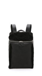 Alexander Wang Shearling Inside Out Backpack Black
